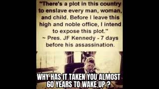 JFK, John Kennedy Warns America / Wake Up!