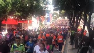 Así transcurrió la Media Maratón de Bucaramanga