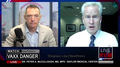 """Dr. Peter McCullough - URGENT WARNING About Poisonous Jabs - """"An Agonizing Situation"""""""
