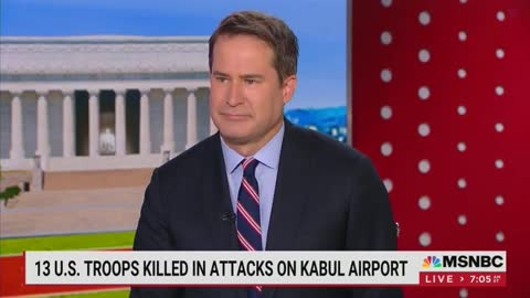 Democratic Rep. Seth Moulton Tears Up Over Afghanistan
