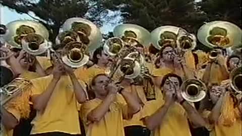 Telecast of 1990 Georgia Tech vs UVA football game -1