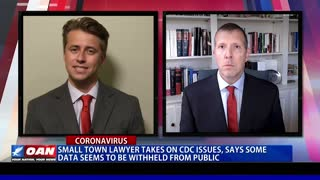 Small town lawyer takes on CDC issues, says some data seems to be withheld from public