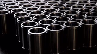 finished pipe products after machine tools