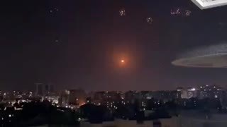 Barrage of missiles fired upon Ashkelon, Israel.
