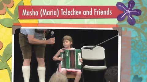 Maria (Masha) Telechev and Friends at Leavenworth International Accordion Celebration 2015