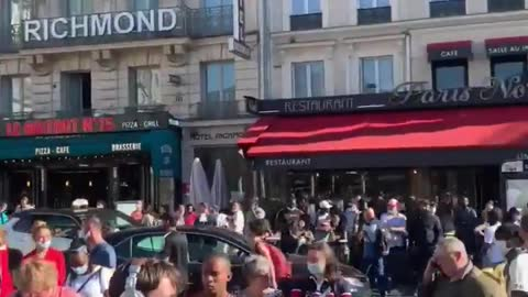 Gare Du Nord train station in Paris evacuated after bomb threat.