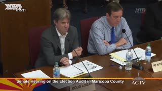 AZ AUDIT RESULTS CLIP🔥 Maricopa County Audit-Over 85,000 ballots showing fraud