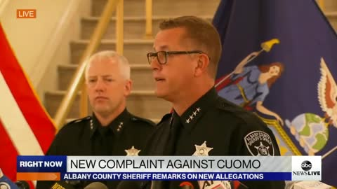 Sheriff Says Yes, the Woman Who Filed Complaint is VICTIM of Cuomo