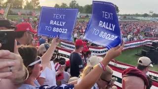Trump Rally, WOW