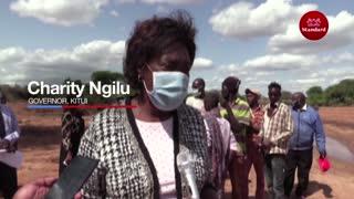 Governor Ngilu stops Kitui residents from harvesting sand
