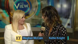 """Meghan McCain """"The View"""" interview part 2"""