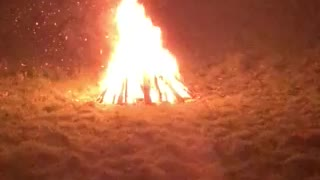 Celebrating bonfire night last year 2019