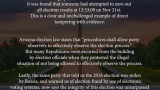 Unmasked. The Truth about the 2020 Presidential Election part 2