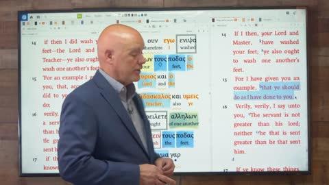 The Gospel of John   Session 52   John 13:1-17