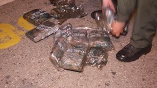 Incautaron 200 kilos de marihuana encaletados dentro de un transformador en Santander
