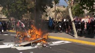 Video: Chile en llamas luego de protestas