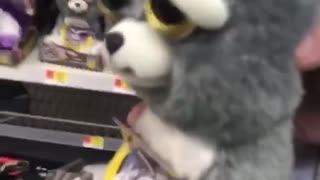 Daddy Surprises Daughter with Feisty Pet Toy