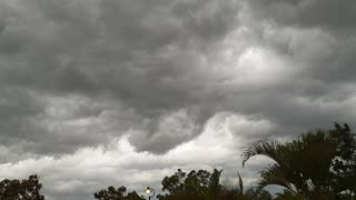 Menacing Storm Clouds