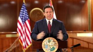 Ron DeSantis Eviscerates Biden's Covid Relief Bill For Penalizing Florida