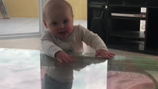 8-month-old baby body rolls better then Beyoncé
