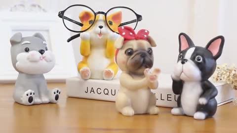 Dog Love Resin Glasses Holder