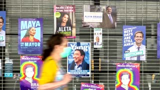 Voters head to polls in NYC's mayoral primary