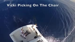 Amazing Big Tuna Fishing Skills At Sea