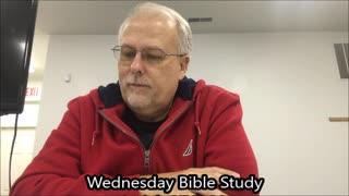 Wednesday Bible Study