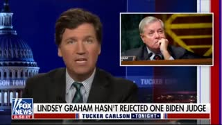 Tucker Carlson Calls Out Lindsey Graham