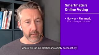 Smartmatic has used online voting in the United States