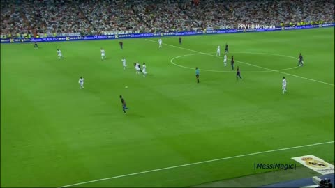 Every Madrid Player's Dream ►ONLY Barcelona Can Score Such Goals @_Bernabeu !!