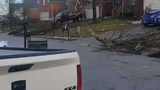 Wilson county tornado damage