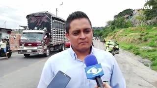 Video: Bus de transporte escolar se incendió en el norte de Bucaramanga