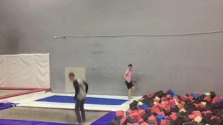 Double back flips