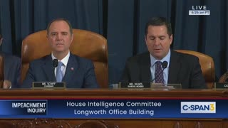 Nunes opening statement Day 7 impeachment hearings