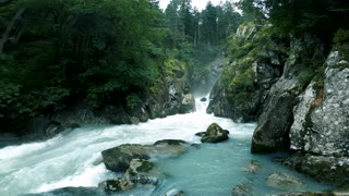 The beauty of a flowing river