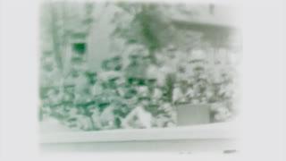 Scenes from a Bob Hope USO show, circa 1946