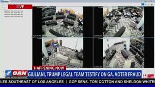 Surveillance Video Captures Voter Fraud
