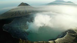 very beautiful mountain view
