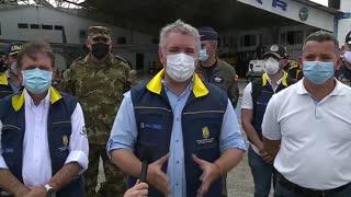 Video: presidente Duque visita San Andrés