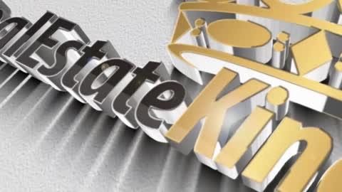Alaska Real Estate King 3D Logo Short