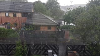 Heavy Rainfall for mind relaxing.
