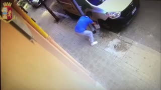 Moment Restaurant Owner Sets Fire To Bad Reviewers Van