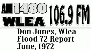 Wlea Archives, Don Jones 1972 Flood Report