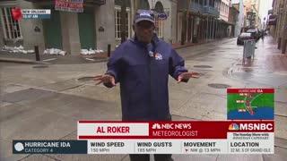 Al Roker defends hurricane coverage