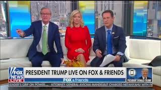 Trump chides Fox New's Steve Doocy over whistleblower