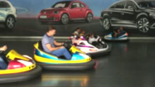Kids playing , Cars, with family, games