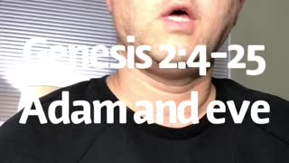 Genesis 2:4-25