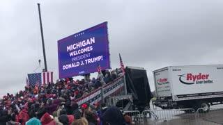 Pres. Trump rally Michigan