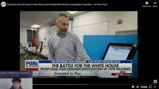 Elections Security Expert Finds COMPLETE FRAUD!!!